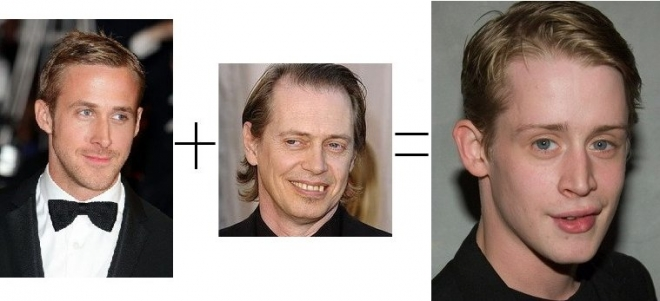 Ryan Gosling + Steve Buscemi = Macaulay Culkin